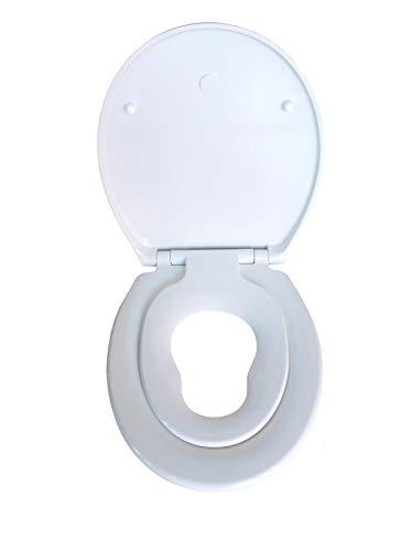 lahomie Kinder T/öpfchenstuhl,Toiletten Trainingssitz Tragbarer Baby-Kleinkind-Toilettenstuhl Leiter Faltbarer Verstellbarer Kindersicherheitst/öpfchen-Trainingssitz