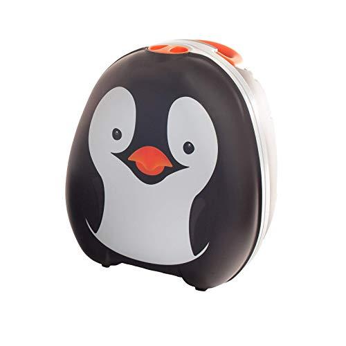 My Carry Potty - Pinguin Travel Töpfchen, preisgekrönter tragbarer Toilettensitz für Kleinkinder, den Kinder überall hin mitnehmen können