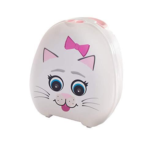 My Carry Potty - Katze Travel Töpfchen, preisgekrönter tragbarer Toilettensitz für Kleinkinder, den Kinder überall hin mitnehmen können