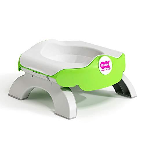 OK Baby N39054440X Roady - 3 in 1 Reisetöpfchen & Toilettenring, grün