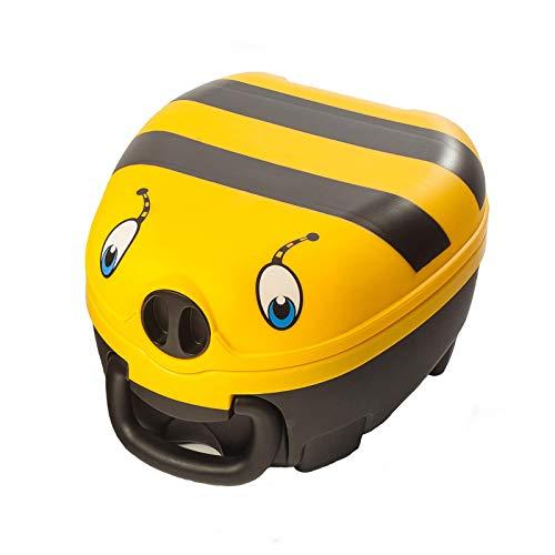 My Carry Potty - Hummel Travel Töpfchen, preisgekrönter tragbarer Toilettensitz für Kleinkinder, den Kinder überall hin mitnehmen können