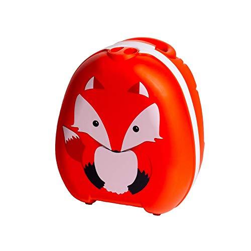 My Carry Potty - Fuchs Travel Töpfchen, preisgekrönter tragbarer Toilettensitz für Kleinkinder, den Kinder überall hin mitnehmen können