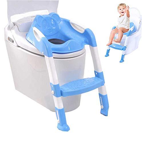 Toilettentrainer WC Sitz Kindertoilette Toilettensitz Lerntöpfchen mit Treppe