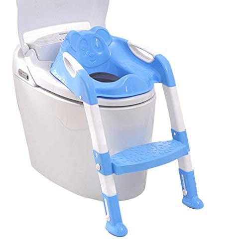 Toilettentrainer mit Treppe Kinder Lerntöpfchen Faltbar Toilettensitz Training+