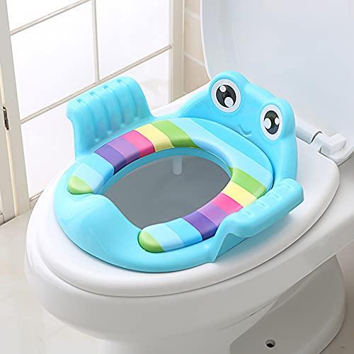 Kinder-Toilettensitz Kindertoilettensitz - Trainingssitz Baby Töpfchentrainer Anti-Rutsch-Funktion Kinder-WC-Sitz für Kinder von 1-6 Jahren