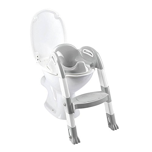 Thermobaby 2172587ALL Kiddyloo Toiletten-Trainer, weiß/grau
