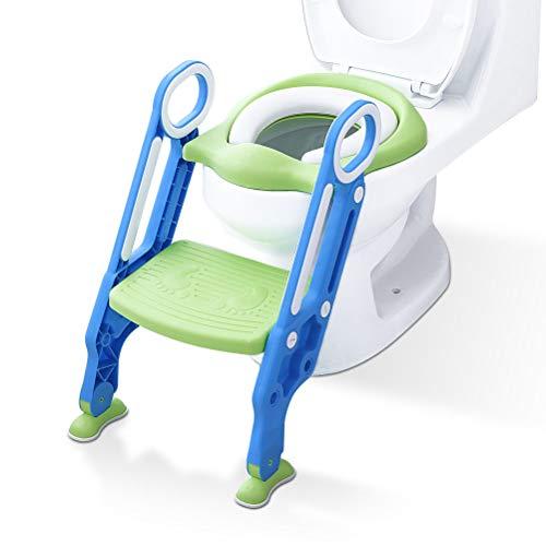 3 in1 Toilettentrainer mit Treppe Kinder Lerntöpfchen Toilettensitz Baby WC Sitz