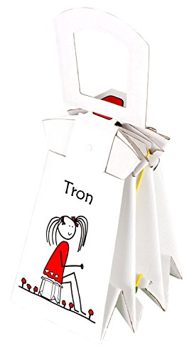 Tron - einmaliges, zusammenklappbares Töpfchen für Kinder