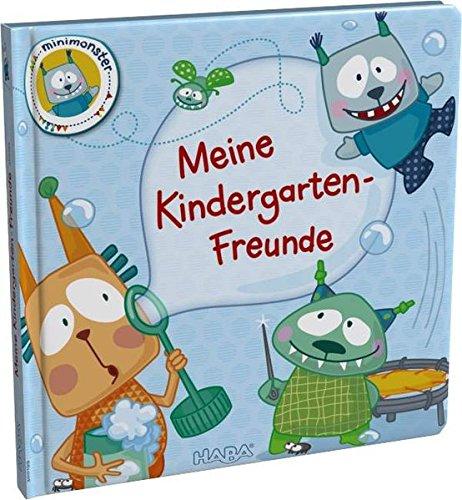 Haba 300199 - Freundebuch: Minimonster, Meine Kindergarten-Freunde